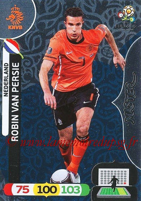 Panini Euro 2012 Cards Adrenalyn XL - N° 293 - Robin VAN PERSIE (Pays-Bas) (Master)