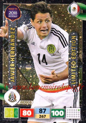 2018 - Panini Road to FIFA World Cup Russia Adrenalyn XL - N° LE-JH - Javier HERNANDEZ (Mexique) (Limited Edition)