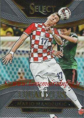 2015 - Panini Select Soccer - N° E07 - Mario MANDZUKIC (Croatie) (Equalizers)