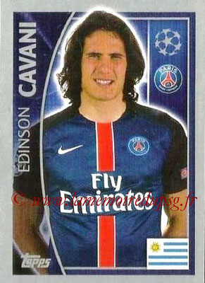 2015-16 - Topps UEFA Champions League Stickers - N° 028 - Edinson CAVANI (Paris Saint-Germain)