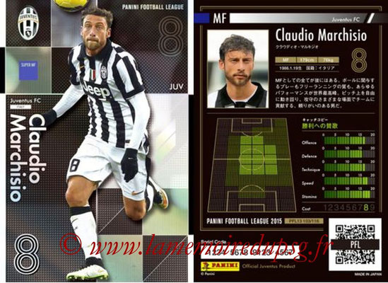 Panini Football League 2015 - PFL13 - N° 103 - Claudio MARCHISIO (Juventus FC) (Super MF)