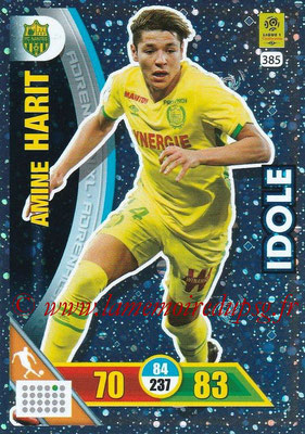 2017-18 - Panini Adrenalyn XL Ligue 1 - N° 385 - Amine HARIT (Nantes) (Idole)