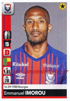 2018-19 - Panini Ligue 1 Stickers - N° 083 - Emmanuel IMOROU (Caen)