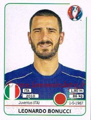 Panini Euro 2016 Stickers - N° 499 - Leonardo BONUCCI (Italie)
