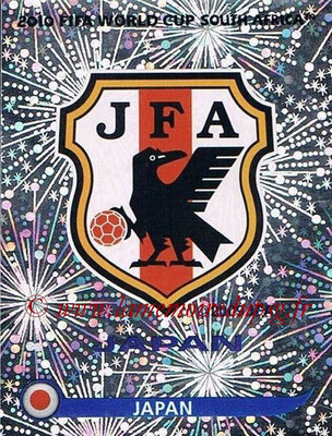 2010 - Panini FIFA World Cup South Africa Stickers - N° 373 - Logo Japon