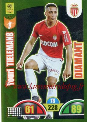 2018-19 - Panini Adrenalyn XL Ligue 1 - N° 414 - Youri TIELEMANS (Monaco) (Diamant)