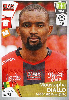 2017-18 - Panini Ligue 1 Stickers - N° 143 - Moustapha DIALLO (Guingamp)