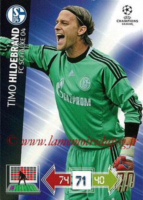 2012-13 - Adrenalyn XL champions League N° 235 - Timo HILDEBRAND (FC Schalke 04)
