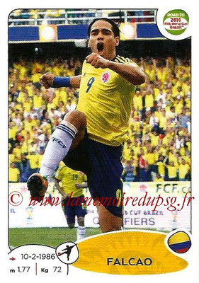 2014 - Panini Road to FIFA World Cup Brazil Stickers - N° 184 - FALCAO (Colombie)