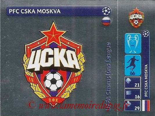 2014-15 - Panini Champions League N° 023 - Logo PFC CSKA moskva