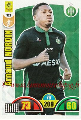 2018-19 - Panini Adrenalyn XL Ligue 1 - N° 321 - Arnaud NORDIN (Saint-Etienne)