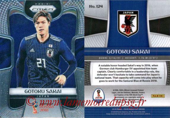 2018 - Panini Prizm FIFA World Cup Russia - N° 124 - Gotoku SAKAI (Japon)