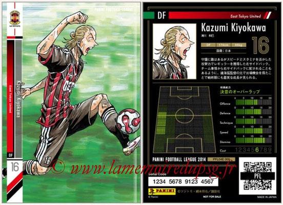 Panini Football League 2014 - PFL04E - N° 009 - Kazumi Kiyokawa (East Tokyo United)