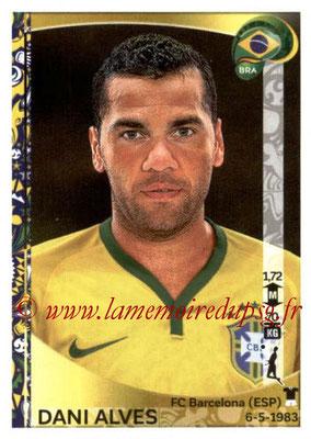Panini Copa America Centenario USA 2016 Stickers - N° 116 - Dani ALVES (Brésil)