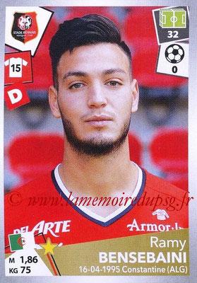 2017-18 - Panini Ligue 1 Stickers - N° 393 - Ramy BENSEBAINI (Rennes)