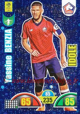 2018-19 - Panini Adrenalyn XL Ligue 1 - N° 374 - Yassine BENZIA (Lille) (Idole)