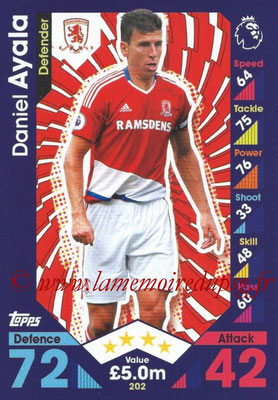 2016-17 - Topps Match Attax Premier League - N° 202