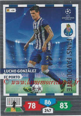 2013-14 - Adrenalyn XL champions League N° 311 - Lucho GONZALEZ (FC Porto) (Fans' Favourite)