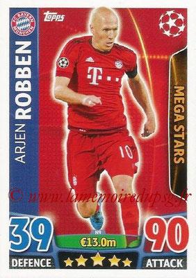 2015-16 - Topps UEFA Champions League Match Attax - N° N09 - Arjen ROBBEN (FC Bayern Munich) (Mega Stars) (Nordic Edition)