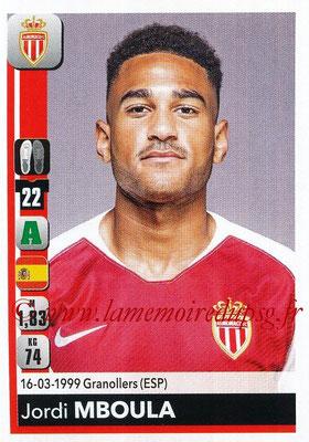 2018-19 - Panini Ligue 1 Stickers - N° 245 - Jordi MBOULA (Monaco)