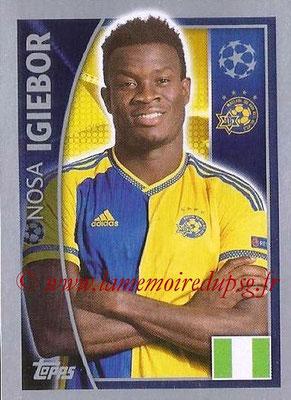 2015-16 - Topps UEFA Champions League Stickers - N° 501 - Nosa IGIEBOR (Maccabi Tel-Aviv FC)