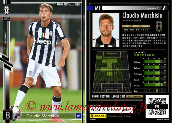 Panini Football League 2015 - PFL11 - N° 009 - Claudio MARCHISIO (Juventus FC)