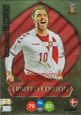2018 - Panini FIFA World Cup Russia Adrenalyn XL - N° LE-CE - Christian ERIKSEN (Danemark) (Limited Edition)