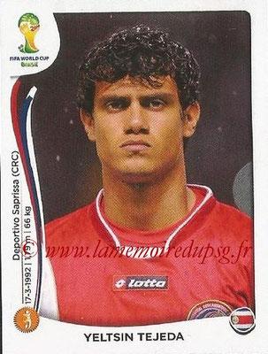 2014 - Panini FIFA World Cup Brazil Stickers - N° 293 - Yelstin TEJEDA (Costa Rica)