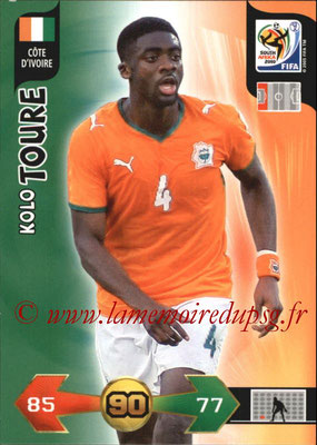 2010 - Panini FIFA World Cup South Africa Adrenalyn XL - N° 065 - Kolo TOURE (Côte d'Ivoire)