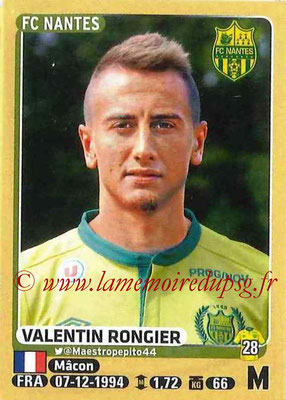 2015-16 - Panini Ligue 1 Stickers - N° 303 - Valentin RONGIER (FC Nantes)
