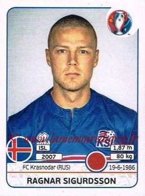 Panini Euro 2016 Stickers - N° 612 - Ragnar SIGURDSSON (Islande)