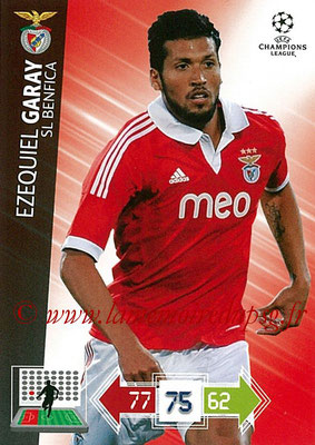 2012-13 - Adrenalyn XL champions League N° 061 - Ezequiel GARAY (SL Benfica)