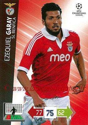 2012-13 - Adrenalyn XL champions League N° 061 - Ezequiel GARAY (SL Benfica)