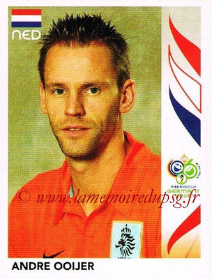 2006 - Panini FIFA World Cup Germany Stickers - N° 232 - Andre OOIJER (Pays Bas)