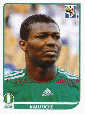 2010 - Panini FIFA World Cup South Africa Stickers - N° 137 - Kalu UCHE (Nigeria)