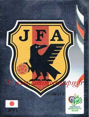 2006 - Panini FIFA World Cup Germany Stickers - N° 436 - Logo Japon