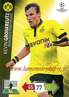 2012-13 - Adrenalyn XL champions League N° 074 - Kevin GROBKREUTZ (Borussia Dortmund)