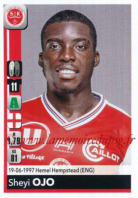 2018-19 - Panini Ligue 1 Stickers - N° 393 - Sheyi OJO (Reims)
