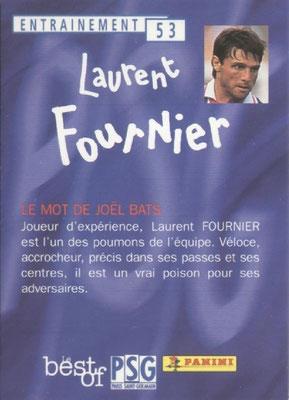 N° 053 - Laurent FOURNIER (Verso)