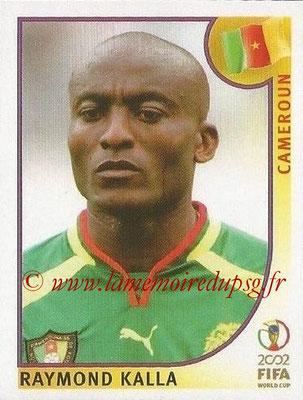 2002 - Panini FIFA World Cup Stickers - N° 372 - Raymond KALLA (Cameroun)
