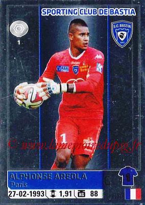 2014-15 - Panini Ligue 1 Stickers - N° 023 - Alphonse AREOLA (SC Bastia)