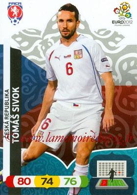 Panini Euro 2012 Cards Adrenalyn XL - N° 005 - Tomas SIVOK (République Tchèque)