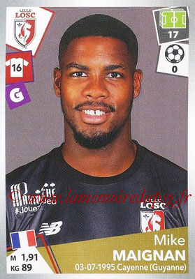 2017-18 - Panini Ligue 1 Stickers - N° 158 - Mike MAIGNAN (Lille)