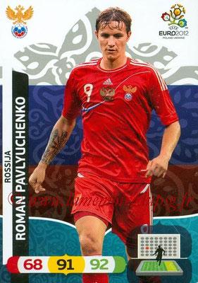 Panini Euro 2012 Cards Adrenalyn XL - N° 200 - Roman PAVLYUCHENKO (Russie)