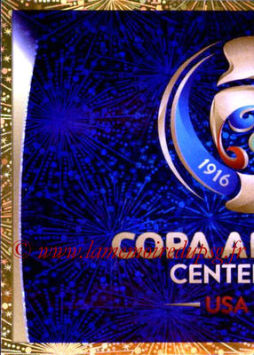 Panini Copa America Centenario USA 2016 Stickers - N° 001 - Logo officiel 1