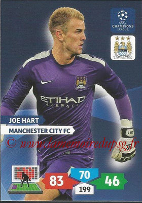 2013-14 - Adrenalyn XL champions League N° 163 - Joe HART (Manchester City FC)