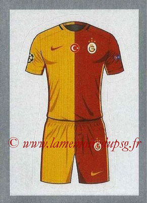 2015-16 - Topps UEFA Champions League Stickers - N° 155 - Maillot Domicile (Galatasaray AS)