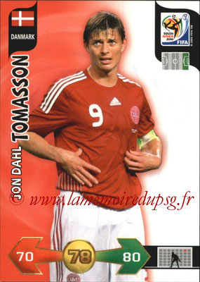 2010 - Panini FIFA World Cup South Africa Adrenalyn XL - N° 081 - Jon Dahl TOMASSON (Danemark)