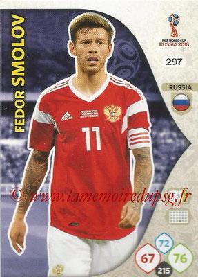 2018 - Panini FIFA World Cup Russia Adrenalyn XL - N° 297 - Fedor SMOLOV (Russie)