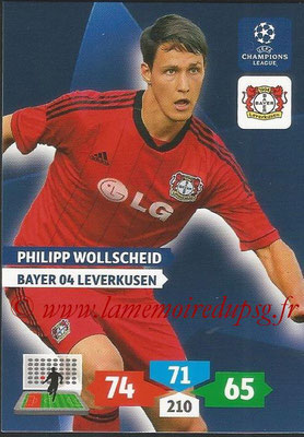 2013-14 - Adrenalyn XL champions League N° 074 - Philipp WOLLSCHEID (Bayer 04 Leverkusen)